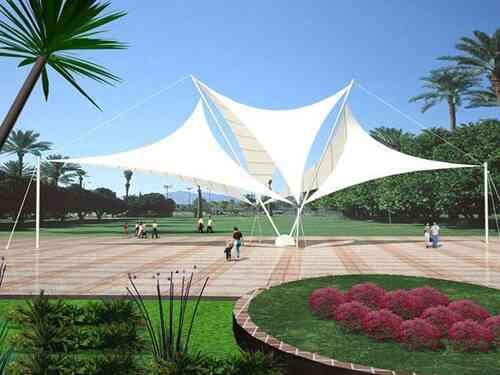 「膜结构景观」厂家对设计与制作有哪些要求?