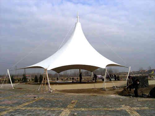 「膜结构景观」在现代建筑业的应用