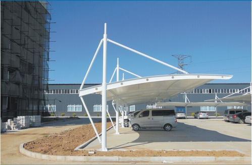 「膜结构车棚」遮阳光照的作用