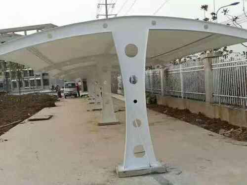 「膜结构停车棚」传统车棚无法比拟的