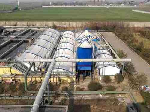 「膜结构污水池」与传统污水池的相比较