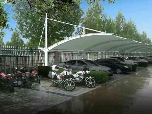 「膜结构停车棚」整体设计规划