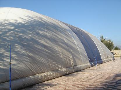 「气模建筑」为环保事业增砖添瓦