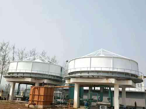 「污水池加盖」反吊膜结构的应用