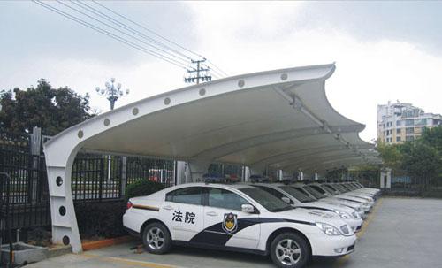 「膜结构车棚厂家」为您介绍停车棚的建造流程