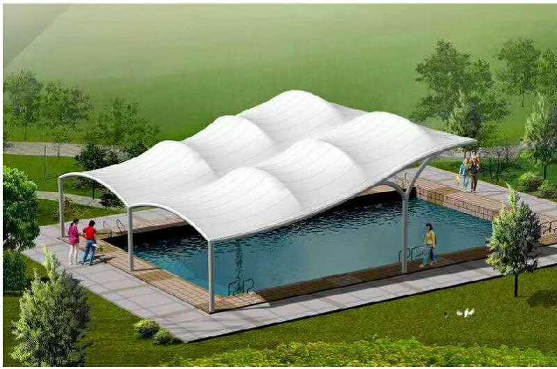 「膜结构遮阳雨棚」被广泛应用的5大优势