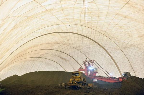 「充气膜结构」在工业中应用有显著的效果