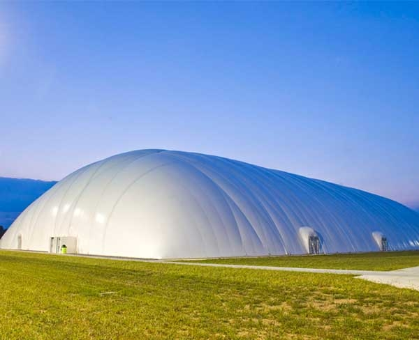 充气膜结构煤棚施工安装注意事项有哪些?