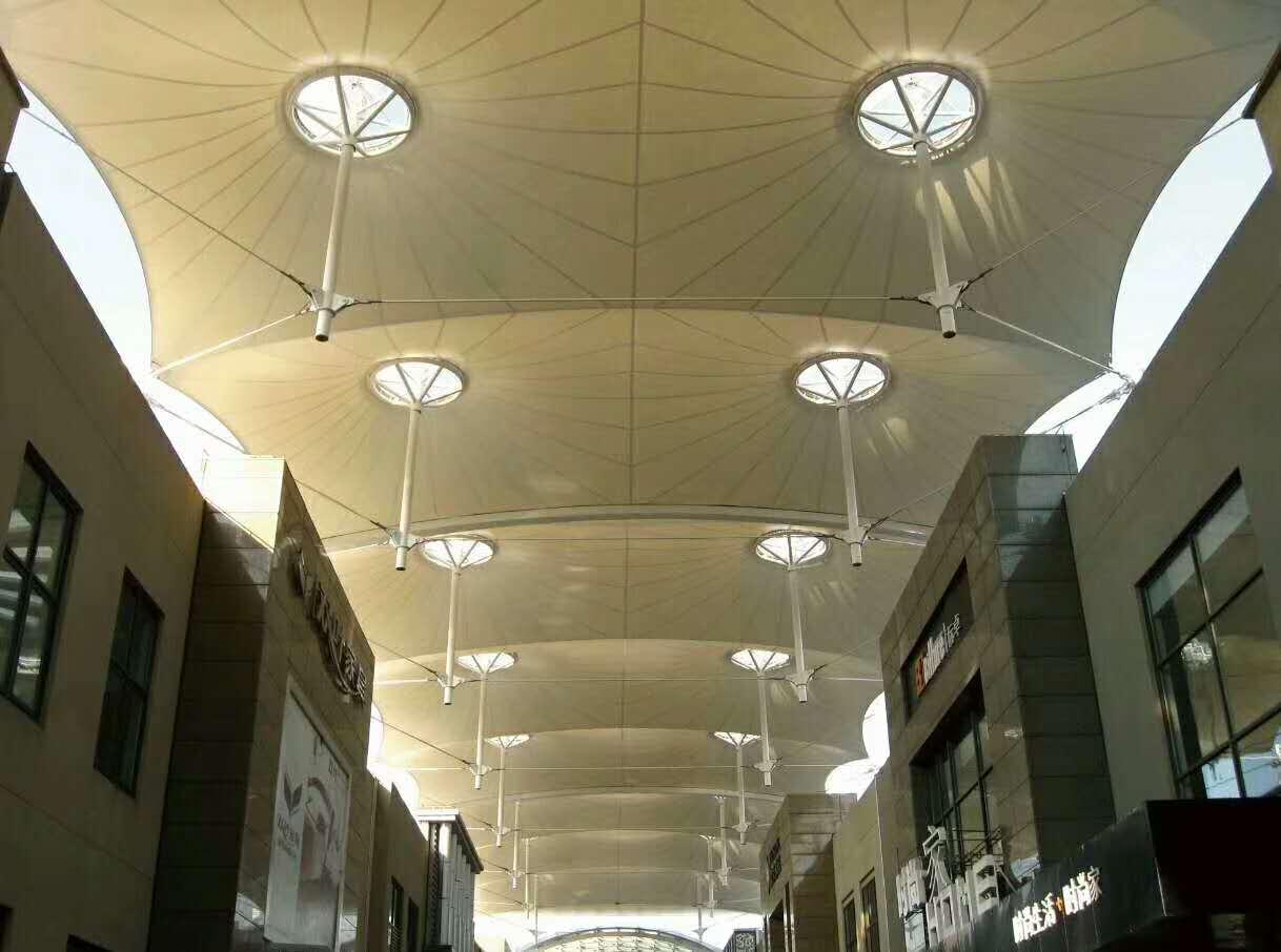 「膜结构遮阳棚」有哪些优势?应用在什么地方?