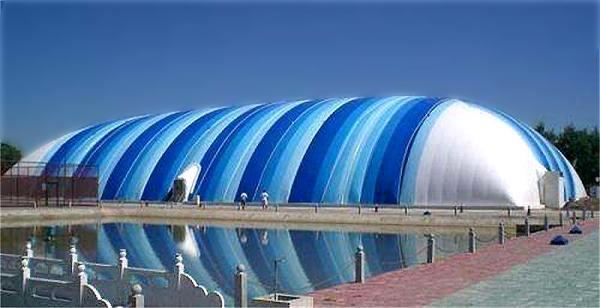 冬季需要做好充气膜建筑的维护工作